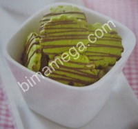 Resep Choco Chip Nut Green Tea