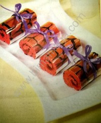 Resep Roll Cake Mini Strawberry